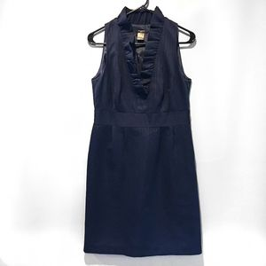 Ann Taylor Navy Blue Dress Size 6